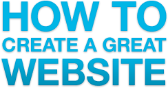 How to create a great website