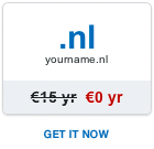 Free .nl domain name